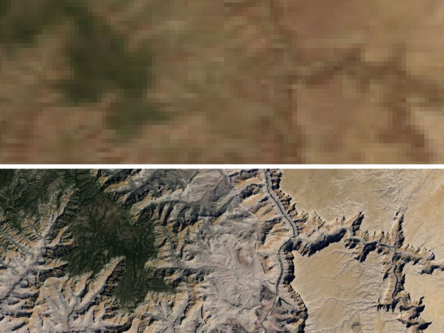 Google Updates Maps And Google Earth With More Detailed Satellite - Detailed satellite imagery