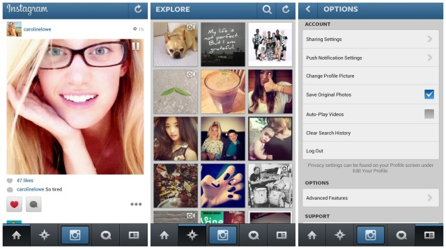 Download the new instagram with video here download download instagram 40 android video ccuart Choice Image