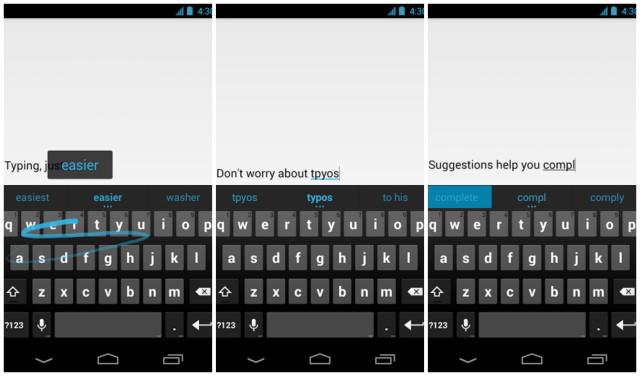 Google Keyboard screenshots