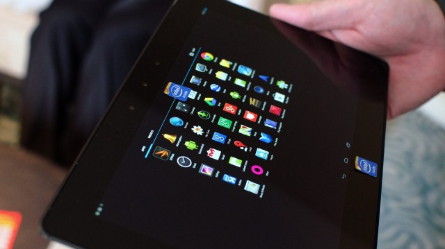 Intel Bay Trail-T reference tablet Android