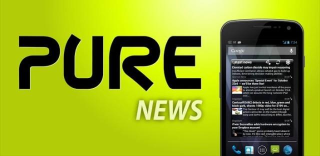 pure news widget
