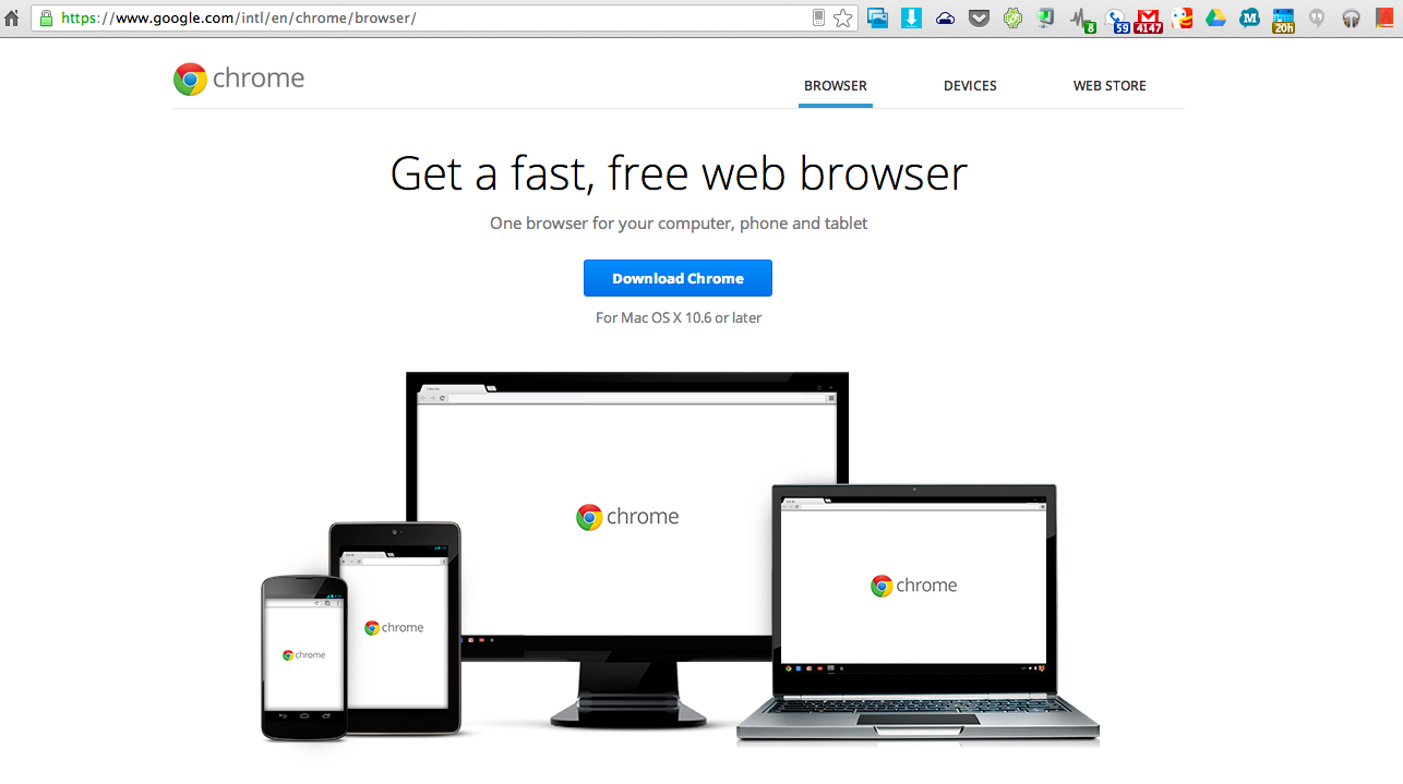 how to get chrome web store on android