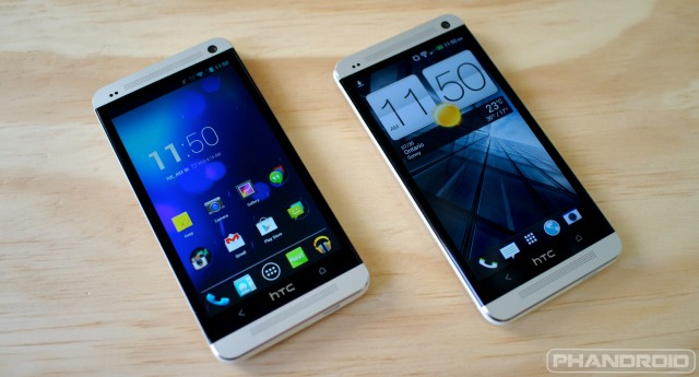 HTC One Google Edition vs Sense