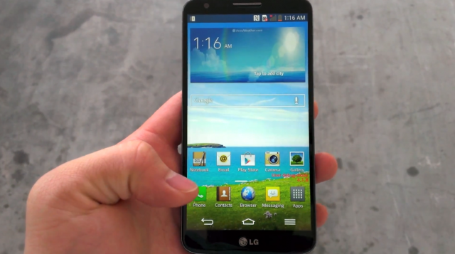 LG G2 video leak