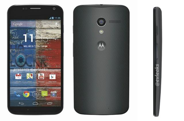Motorola Moto X leaked press images