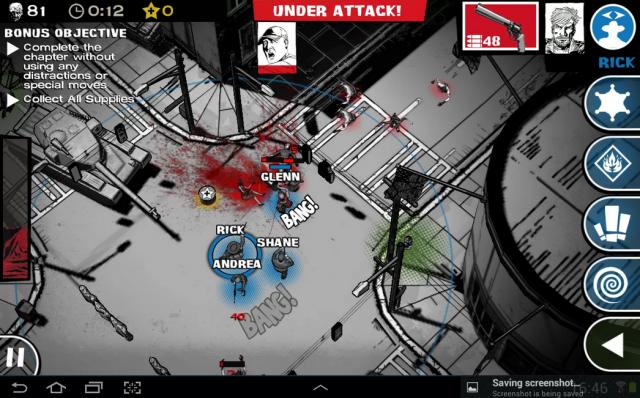 The Walking Dead Assault screenshot 1