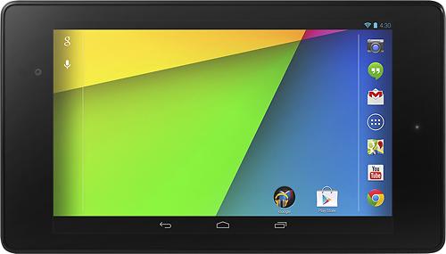 Nexus 7 versi terbaru