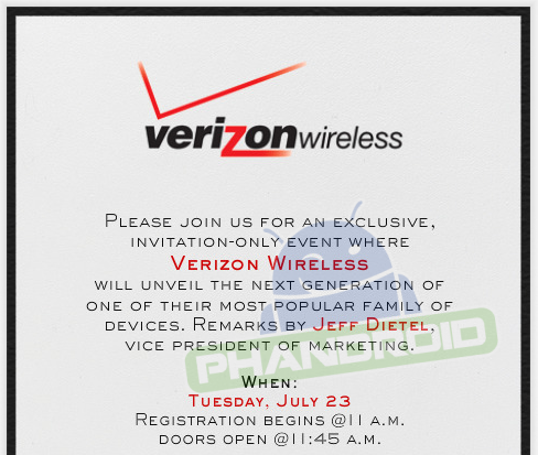 verizon wireless august 23rd event nyc droid ultra