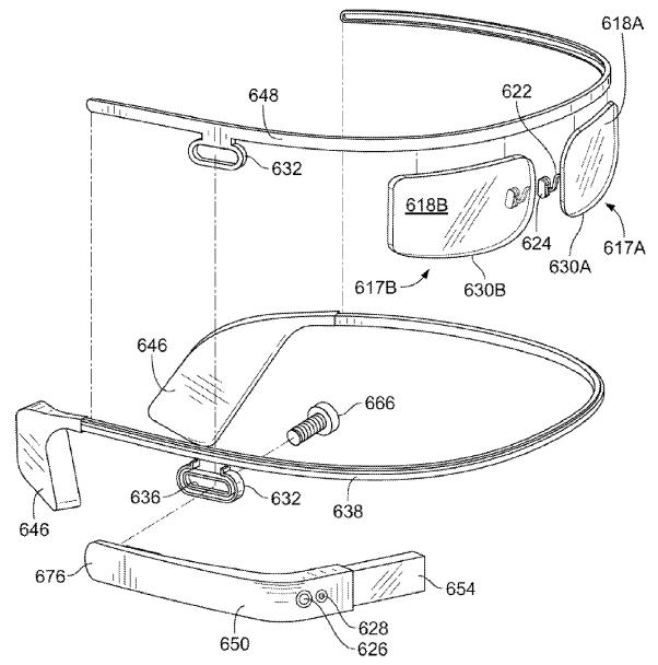 Google Glass patent figure 12