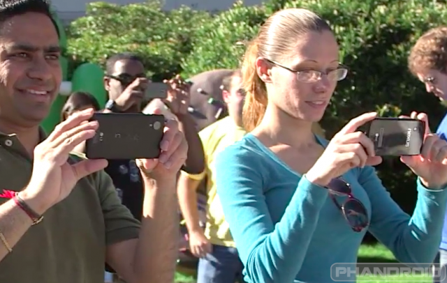 LG made Nexus 5 leaked watermarked
