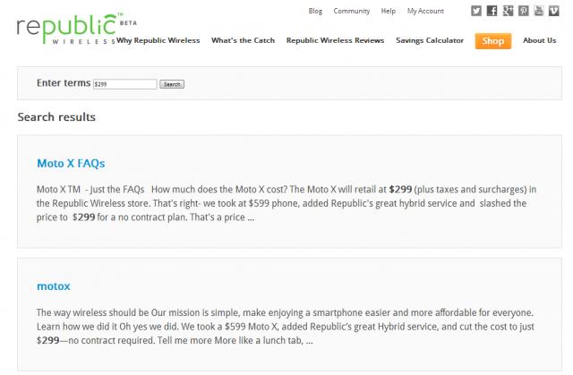 Republic Wireless FAQ Moto X