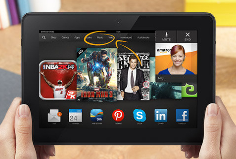 kindle fire hdx 89