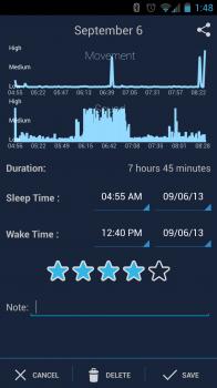 sleepbot screenshot