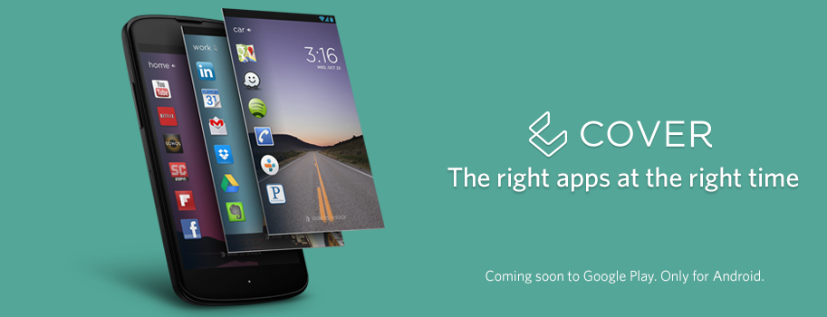 cover is an android only contextually aware smart lockscreen