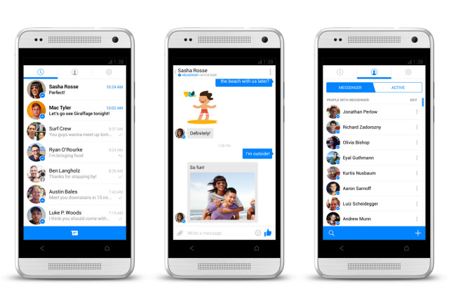 Facebook Messenger UI update