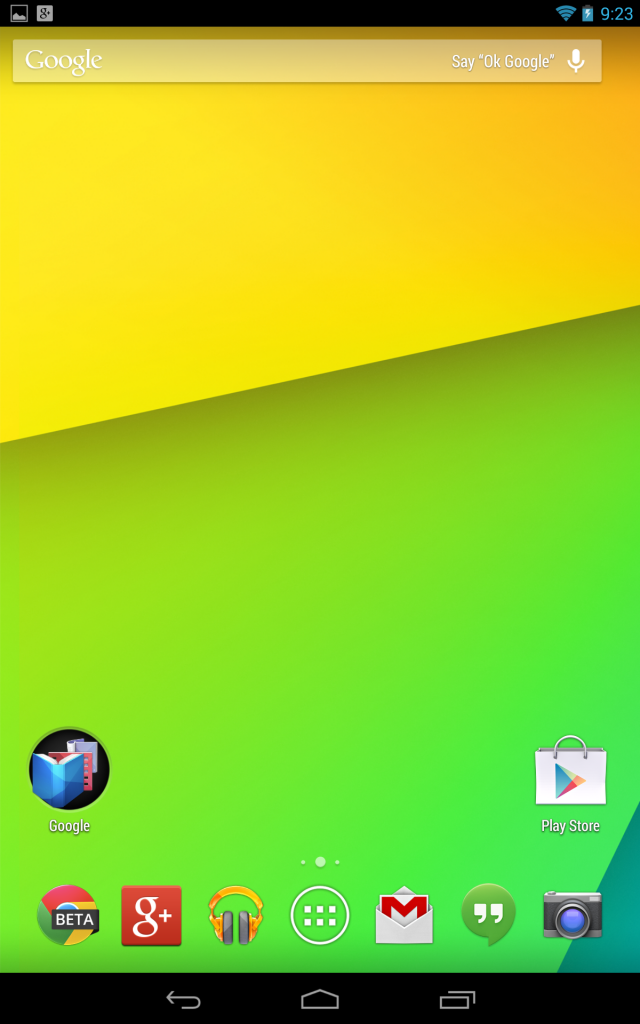 Download and install the new Google Experience Launcher