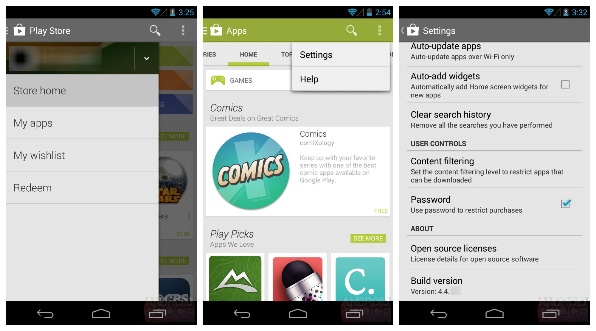 Android Apps On Google Play: New Google Play Store 4.4 Leaked, Currently Being Tested