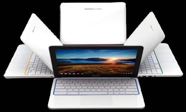 HP Chromebook 11 angles