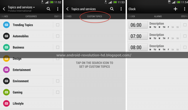HTC Sense 5.5 update BlinkFeed
