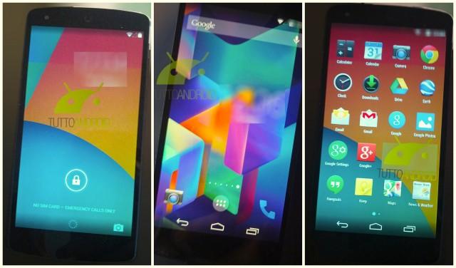 Nexus 5 Android 4.4 KitKat leak Tutto Android.jpg