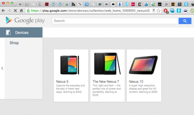 Oops: Nexus 5 makes brief appearance on the Google Play ...