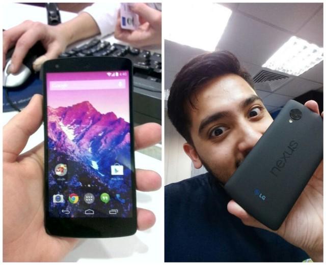 Nexus 5 dummy units