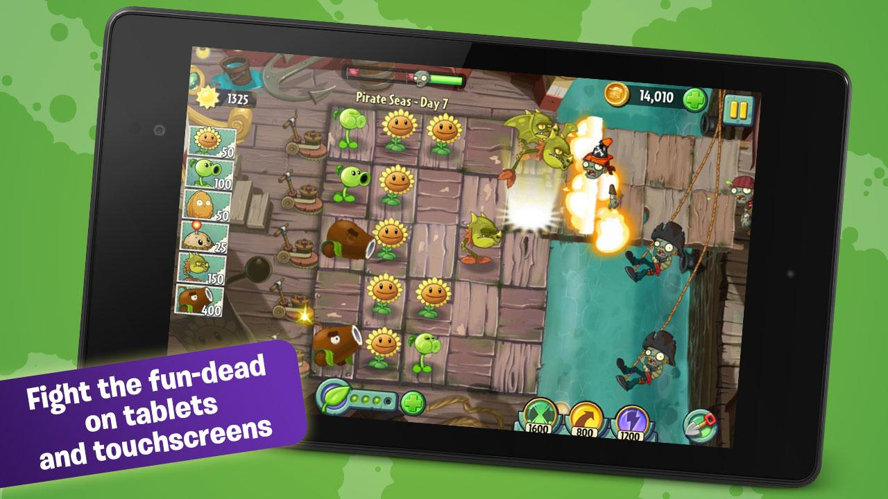 Plants Vs Zombies 2 Is Now Officially Available From The