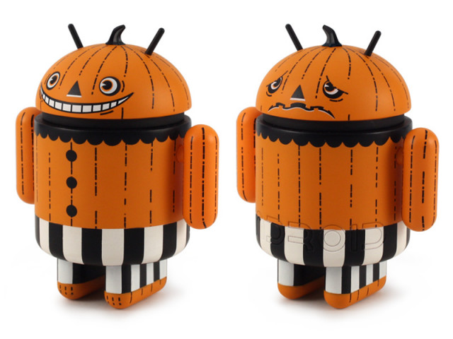 Happy Halloween Android Collectible