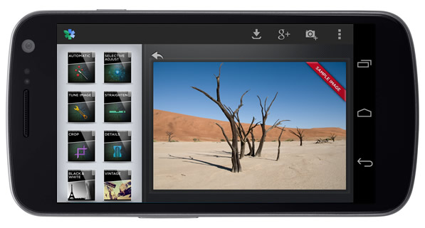 snapseed for android 4.0
