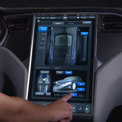 Tesla 17 Inch Dashboard To Get Chrome Browser And Android