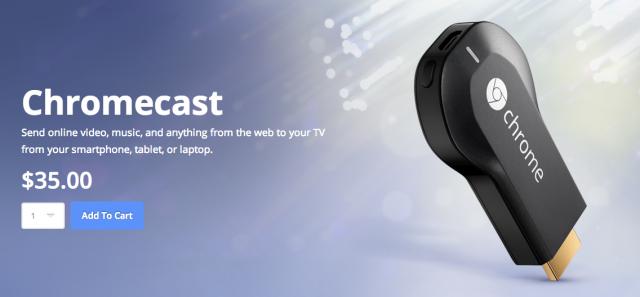 Chromecast via Motorola