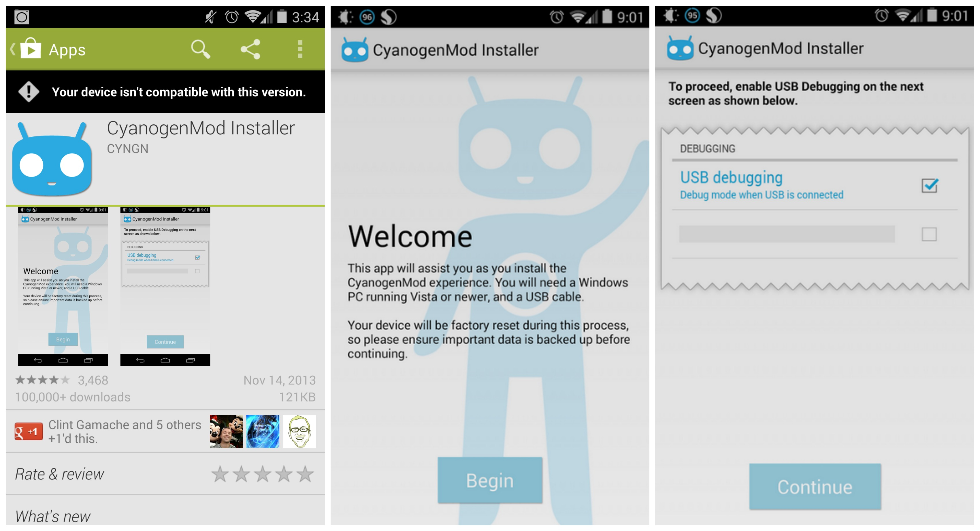 CyanogenMod Installer pulled from the Play Store at Google ...