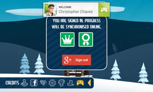 Ski Safari Google Play Games cloud game save backup