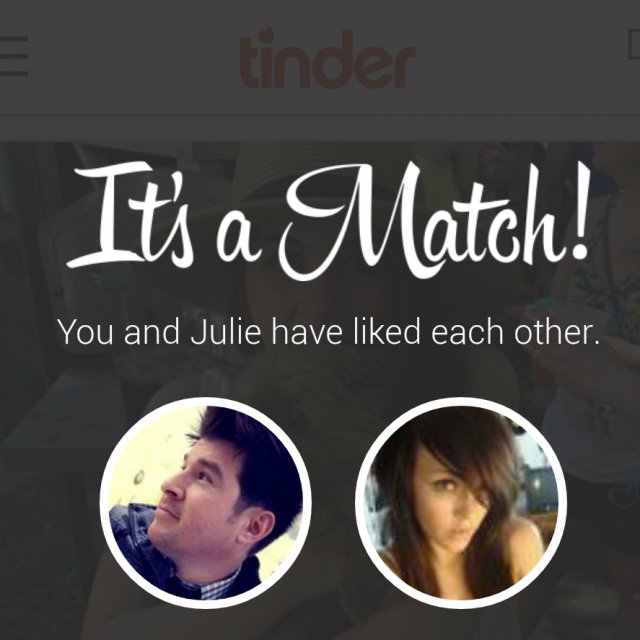 Dating apps match when you are close together