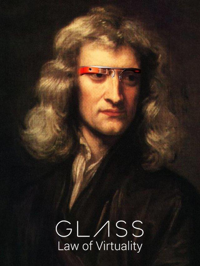 glass-photoshop-newton