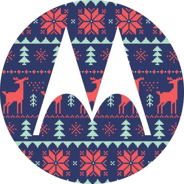Motorola Christmas logo