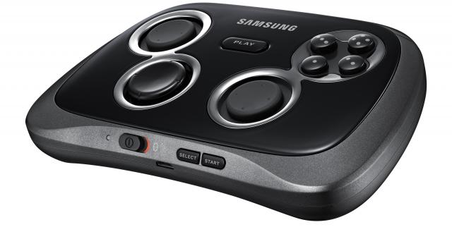 Samsung GamePad angled