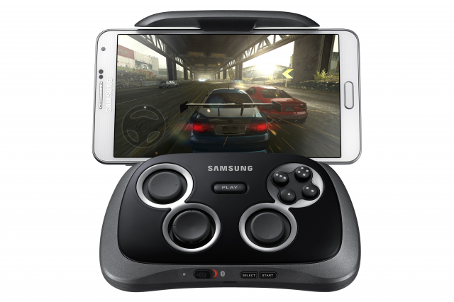 Samsung GamePad with Phone game