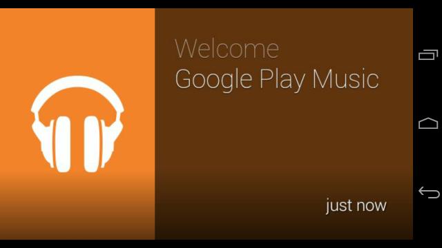 Google Play Music Google Glass