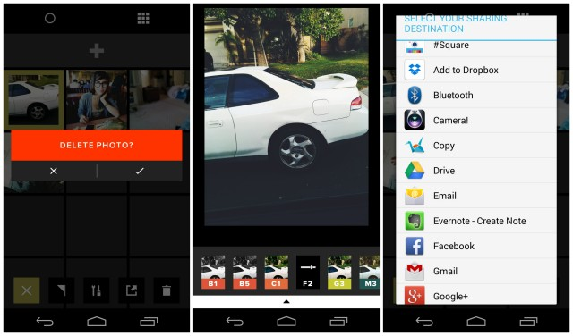VSCO Cam Android screenies