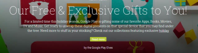 google play gifts