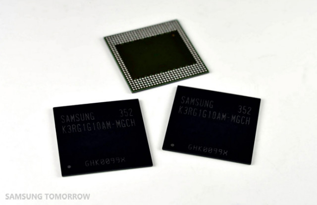 samsung lpddr4 ram 8 gigabit 2
