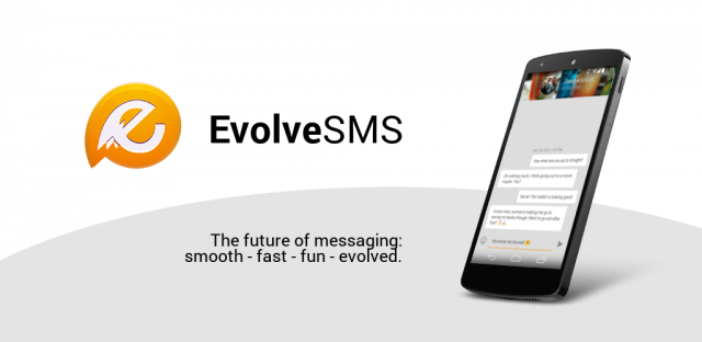 EvolveSMS Feature graphic