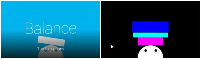 Google Glass Mini-Games - Balance