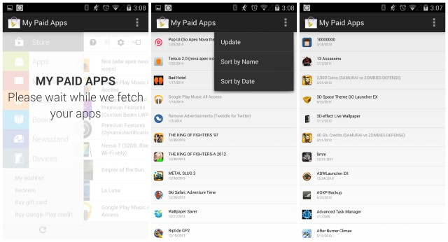 My Paid Apps screenshots