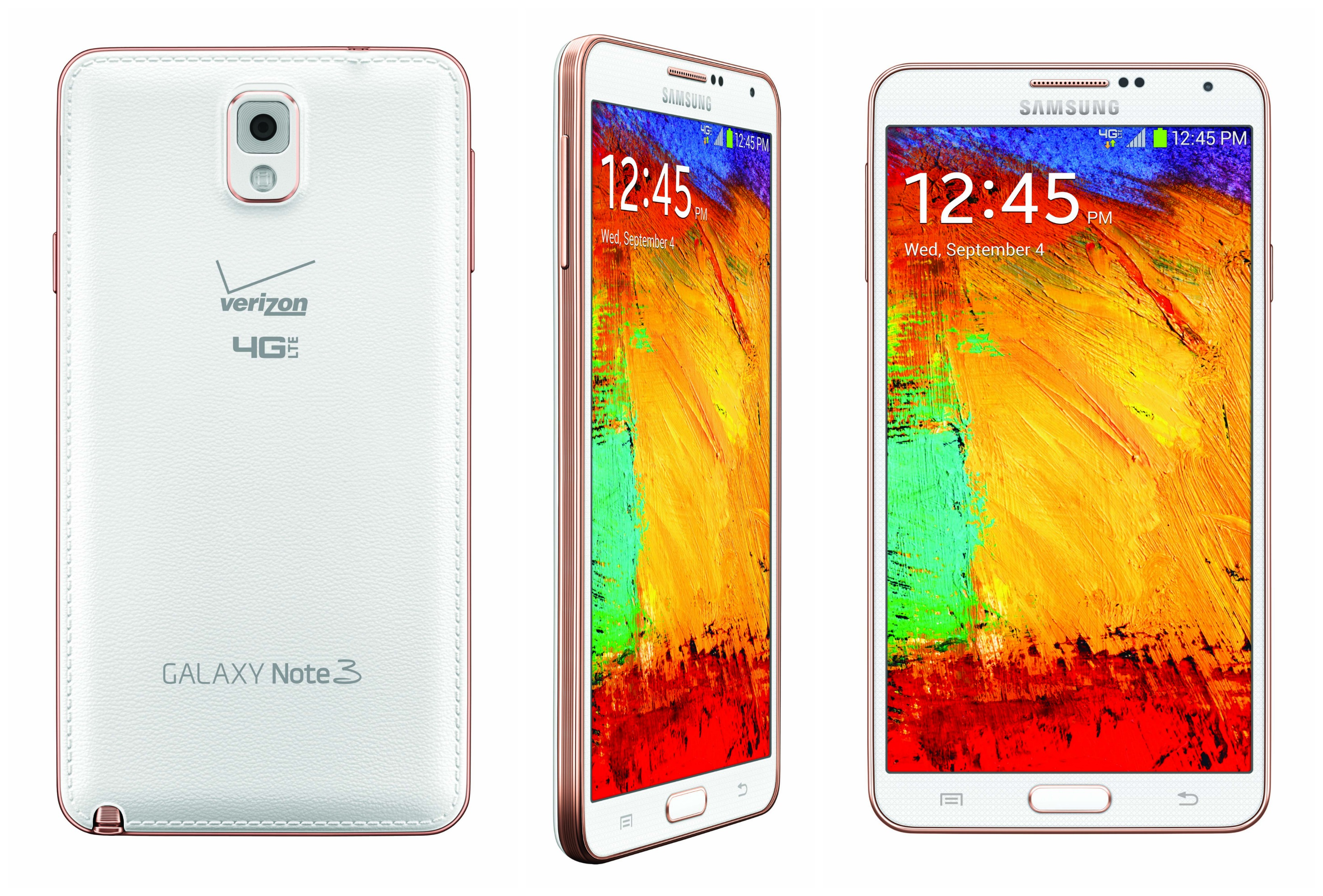 confirmed samsung galaxy note 3 in new rose gold will be. Black Bedroom Furniture Sets. Home Design Ideas