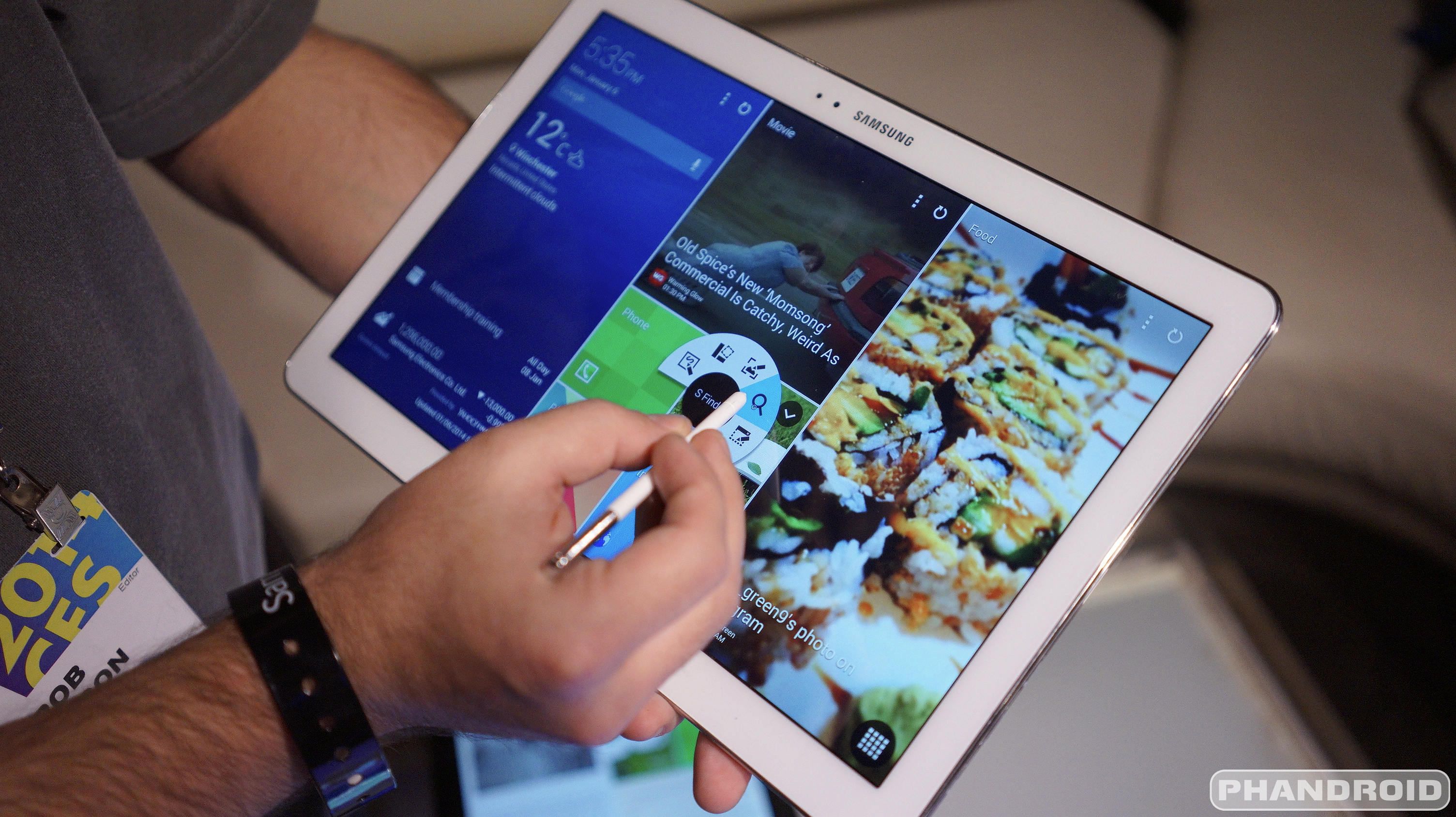"Samsung's Largest 12.2 ""Tablet Will Now Have the Lollipop"