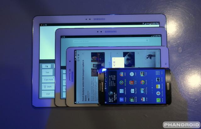 Samsung Galaxy Pros size comparison DSC05097