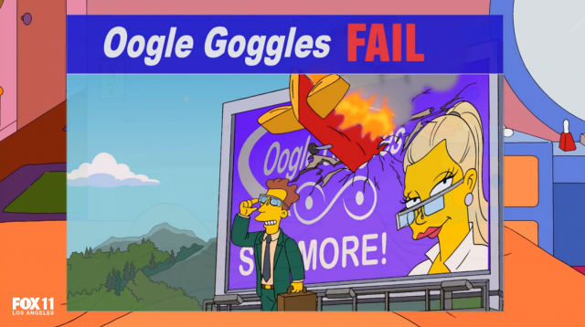 The Simpsons Oogle Goggles FAIL