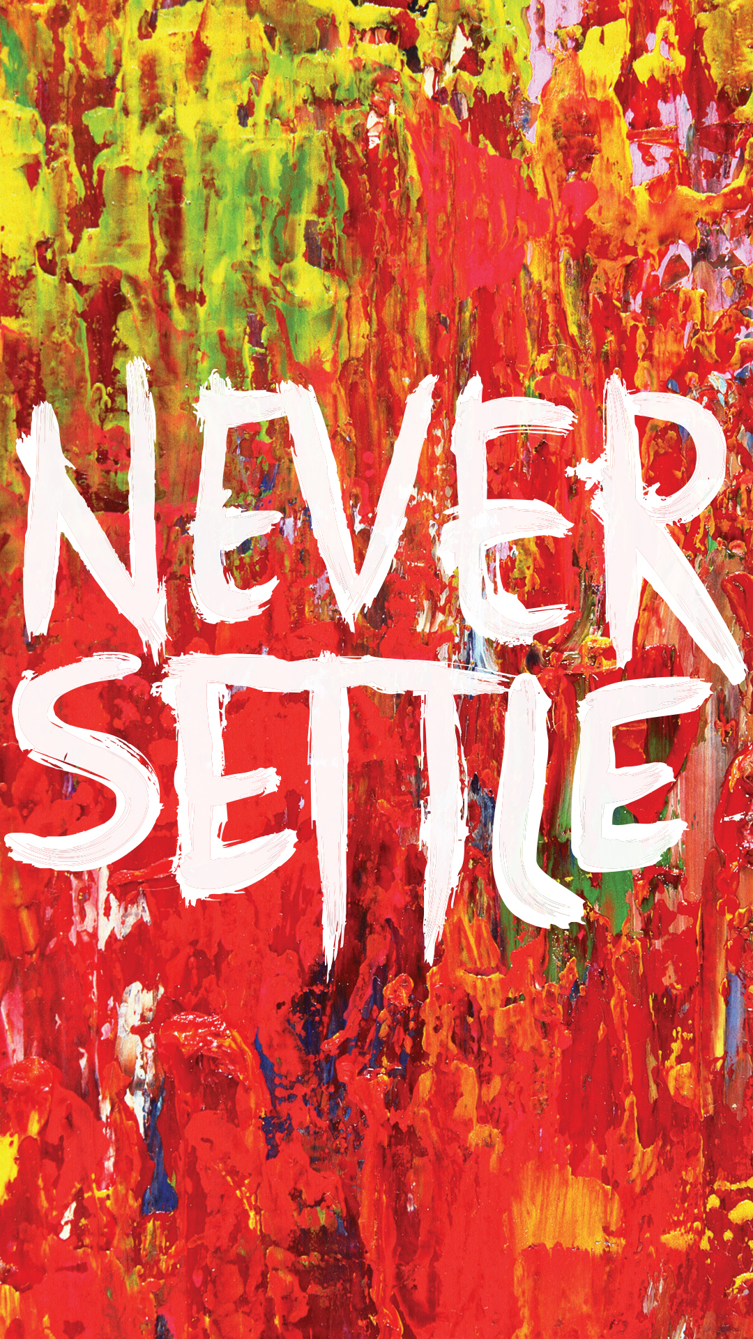 oneplus launches neversettle wallpaper campaign for their oneplus one cyanogenmod phone
